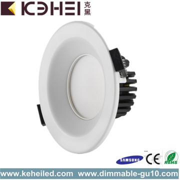 Round Adjustable 3.5 Inch LED Downlights White