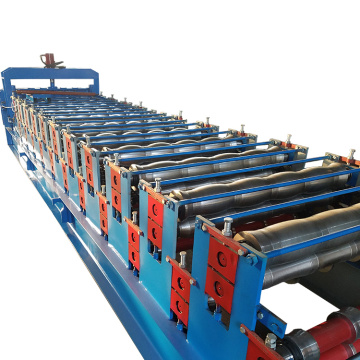 Metal Roofing Use Double Layer Roll Forming Machine