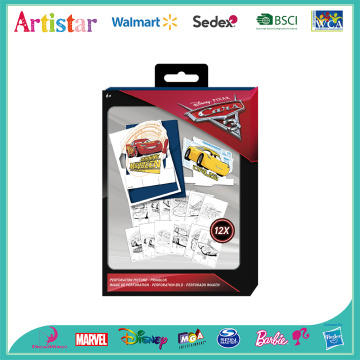 Disney Cars scratch art pad
