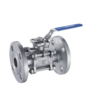 Casting 3PC Stainless Steel Flanged Ball Valve