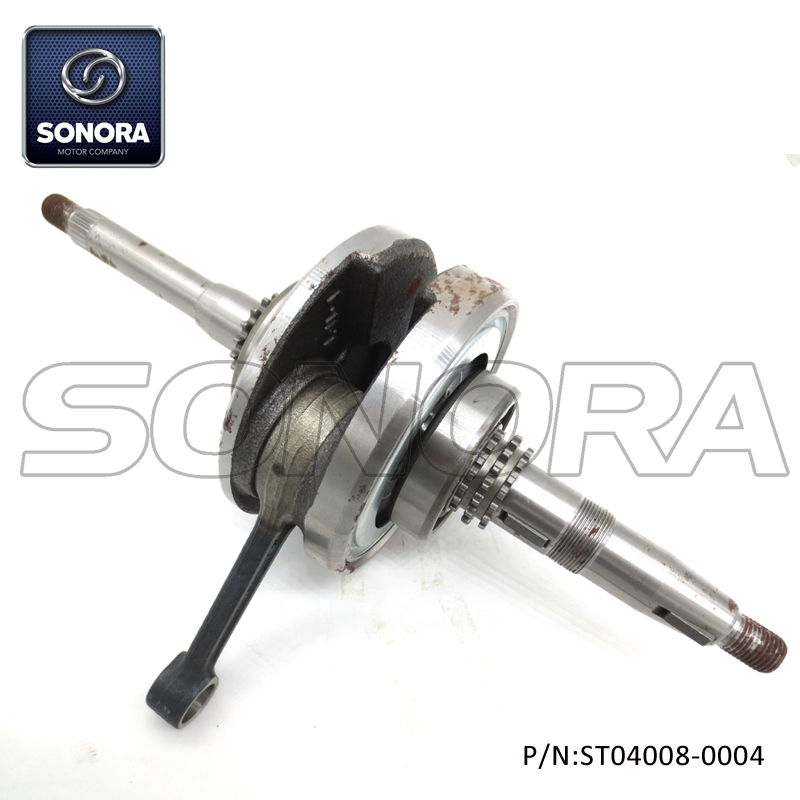 152QMI GY6-125 Crankshaft (P/N:ST04008-0004) Top Quality