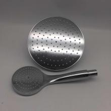 Stainless Steel Overhead Handle Shower Head Set