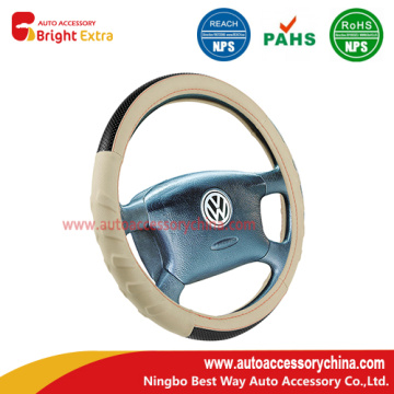 Sport Grip PU Leather Steering Wheel Cover
