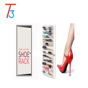 36 pairs hanging wall mounted shoe display rack
