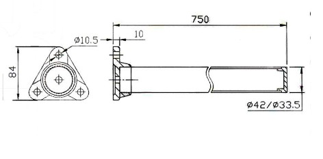 Cargo Bar for Semi-trailer