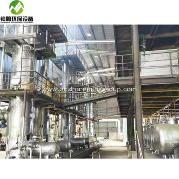 Automatic Used Engine Oil Refinery Machine