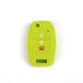 Silicone Car Key Cover 3 Buttons For Kia