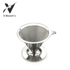 Ordinary Discount Best price for Kitchen Funnel Stainless Steel Pour Over Coffee Dripper export to Virgin Islands (British) Factories