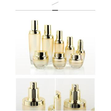 Small black bottle cosmetics bottle set