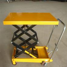 China for Hydraulic Trolley,Hydraulic Lifting Trolley,Hydraulic Trolley Lift Manufacturer in China 300kg Hand Crank Table Lift Mechanism Trolley Wheelbarrow supply to Jordan Importers