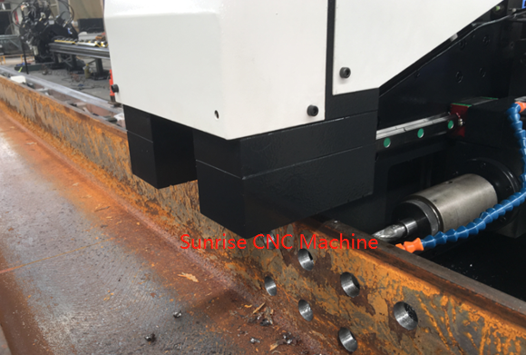 single head beam drilling
