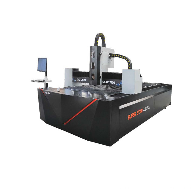 500w Raycus metal fiber laser cutting machine