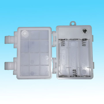 Chepa White Waterproof 3AA Battery Box