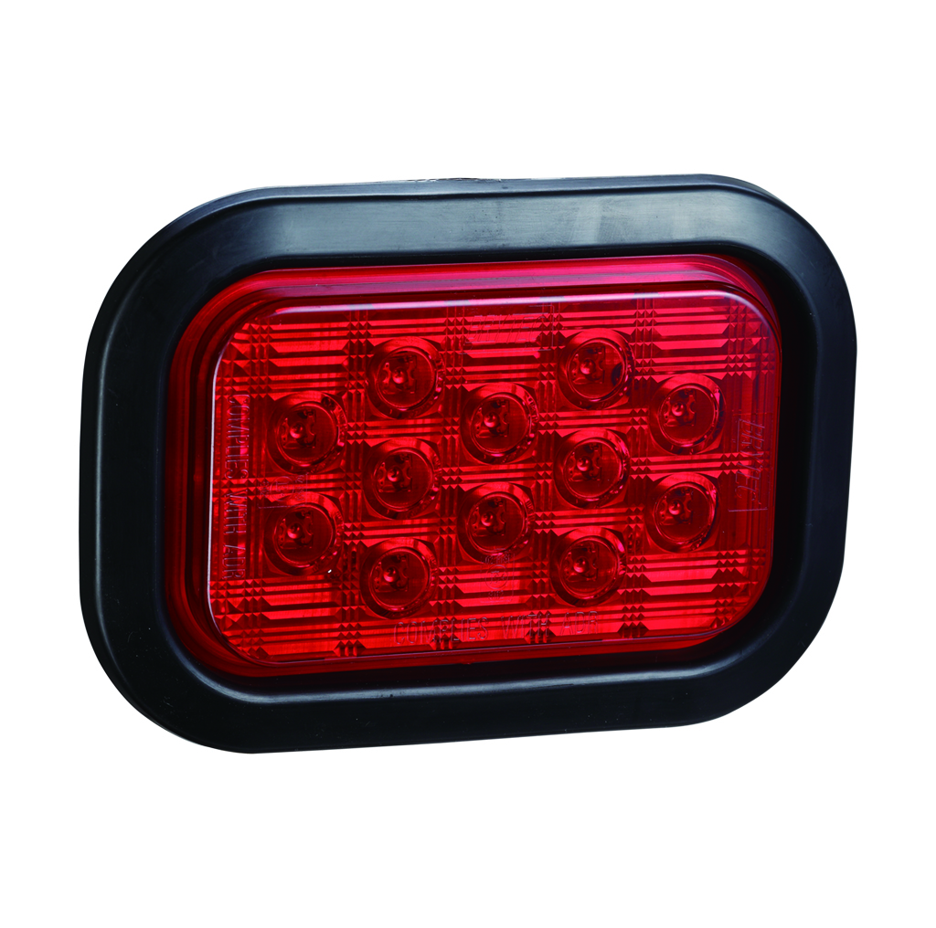 LED Rectangle Truck Stop Lamps