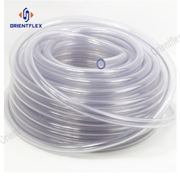 Blue pvc transparent hose tubing