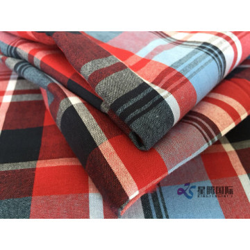 Single-faced Sanding Finishing Checked Fabrics