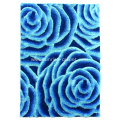 Elastic Soft and Silk Shaggy Rug 3D