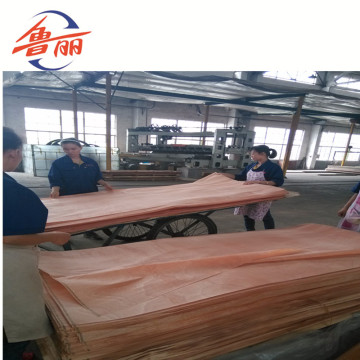 1220X2440mmX5mm Okoume Veneer MDF sheets for decoration