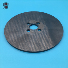 black zirconia ceramic disc plate roundel board