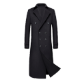 Men's Cashmere Full Length Overcoat