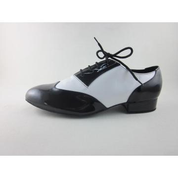 Smooth ballroom shoes for men