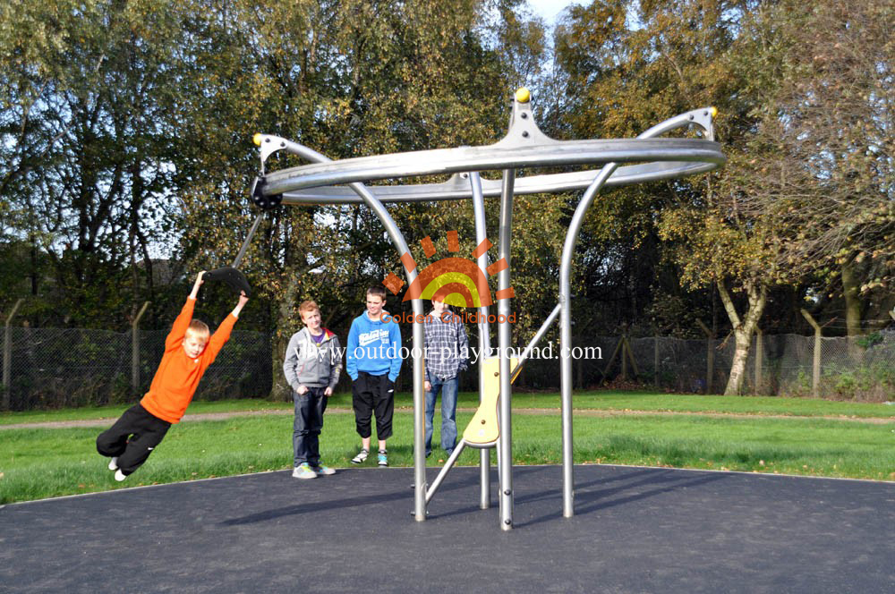 Outdoor Dynamic Playground Structure For Kids
