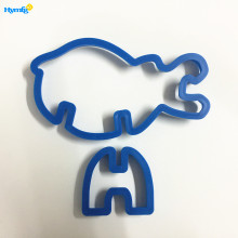 Plastic 3D Hippo Shaped Animal Cookie Biscuit Cutter