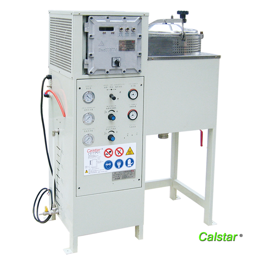Automatic solvent recovery machine
