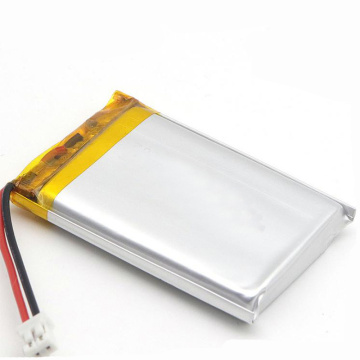 High capacity lipo703450 1300mah li-polymer battery