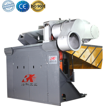 electric induction furnace price for melting copper