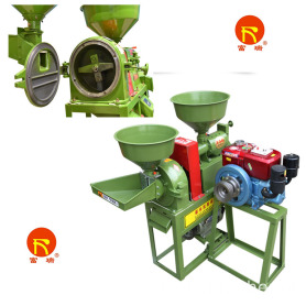 High Quality Electric Motor Crush Millet Machinery