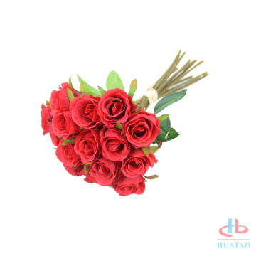 Wedding bouquet flower rose artificial flower