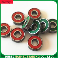 Deep groove ball bearings double groove 608RS