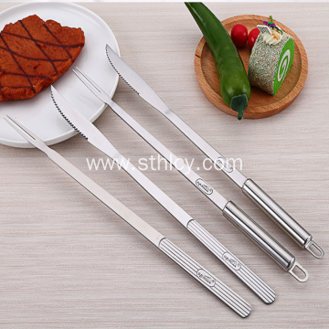 Stainless Steel Barbecue Knife And Fork Series
