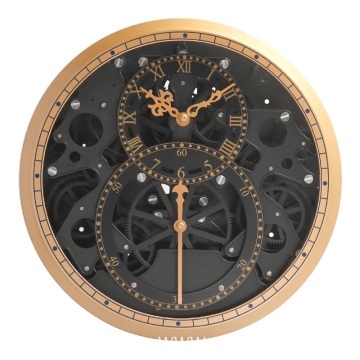 Unique Clock with unnormal gear for wall decoration