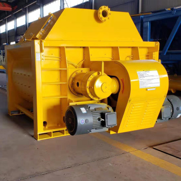High quality twin shaft heavy dutyconcrete mixer