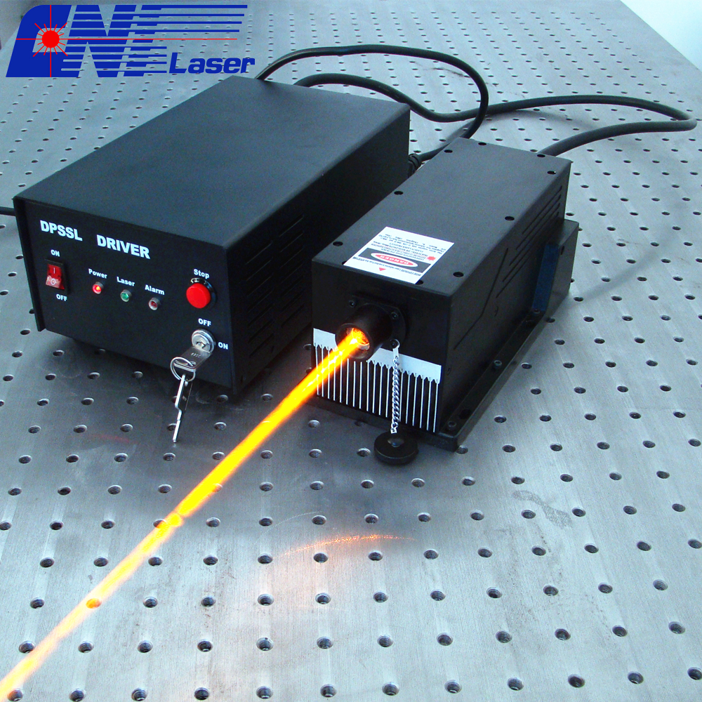 800mw 588nm laser for optical sensor and experiment