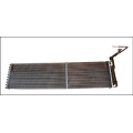 heat exchanger for commercial supermarket equipment
