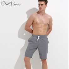 Best Quality for Mens Boxers Men quick dry long swim trunks with belt export to Indonesia Wholesale