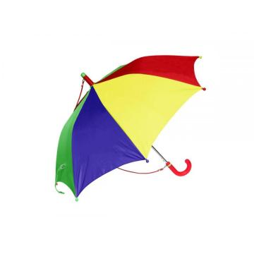 Rainbow color automatic kids umbrella