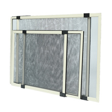 Adjustable Aluminum Framed Sliding Fly Screen Window