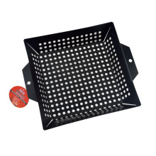 Best Price for for Bbq Grill Basket,Grill Basket,Fish Grill Basket Manufacturers and Suppliers in China non-stick vegetable basket for grilling supply to Indonesia Manufacturer