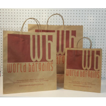 China for Brown Paper Bag With Twisted Handle Brown Paper Bags With Handles supply to Antarctica Supplier