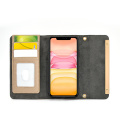 Card Slots Stand Magnet Wallet Leather Phone Case