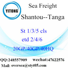 Shantou Port Sea Freight Shipping To Tanga