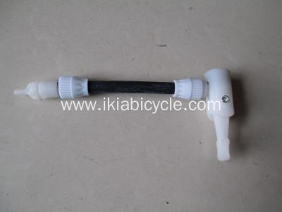 Multifunctional Nozzle Many Colors Steel Bike Pump