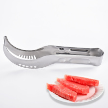 stainless steel fruit cutter melon watermelon slicer