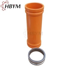 OEM for China Pipeline And Flange Systems,Pipeline Concrete Pumping,Concrete Pump Pipe Manufacturer and Supplier Concrete Pump Hardened Quenching High Wear Resistance Pipe supply to Pitcairn Manufacturer
