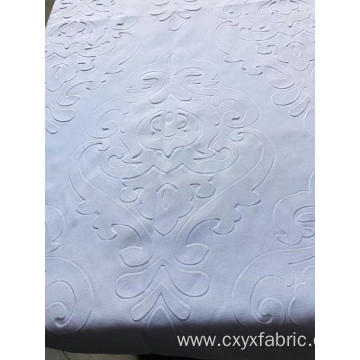 Polyester 3d emboss fabric for bedsheet