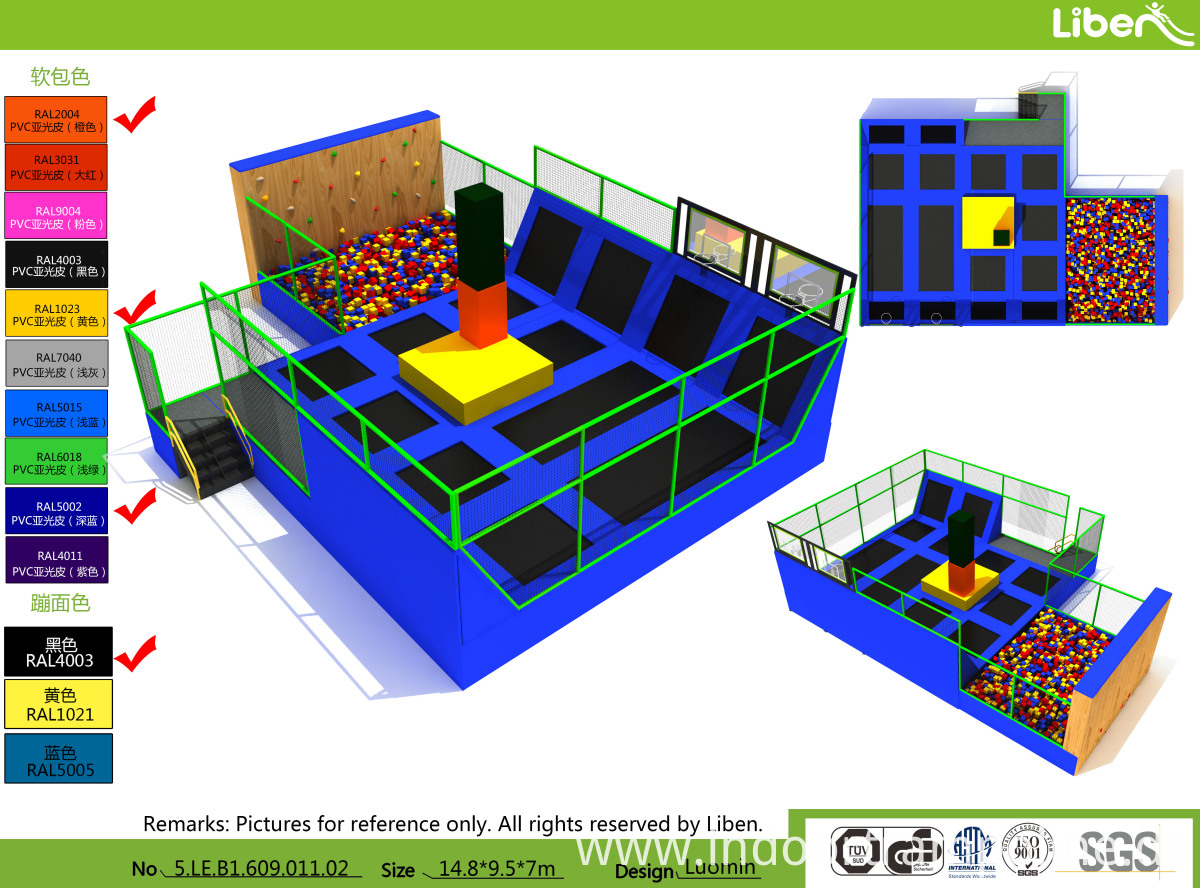 trampoline park franchise cost